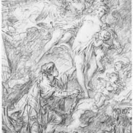 《皮格馬利翁和伽拉泰亞》弗朗索瓦·布歇(Francois Boucher)高清作品欣賞