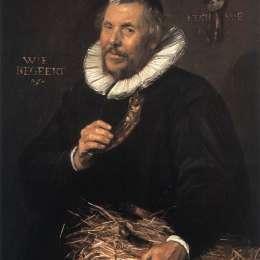 《彼得科內利斯。范德莫爾施》弗朗斯·哈爾斯(Frans Hals)高清作品欣賞