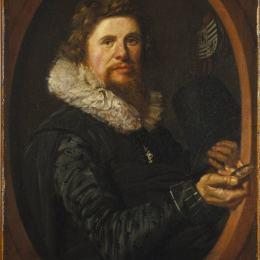 《男人肖像》弗朗斯·哈爾斯(Frans Hals)高清作品欣賞