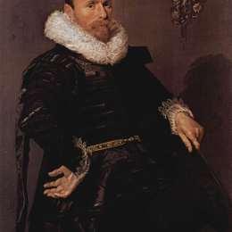 《一個陌生男人的肖像》弗朗斯·哈爾斯(Frans Hals)高清作品欣賞