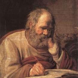《圣盧克》弗朗斯·哈爾斯(Frans Hals)高清作品欣賞