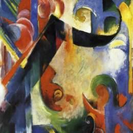 《破碎形式》弗朗茨·馬克(Franz Marc)高清作品欣賞