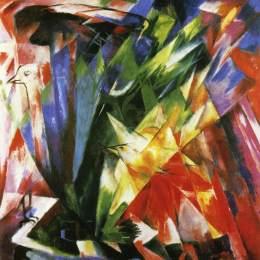 《鳥》弗朗茨·馬克(Franz Marc)高清作品欣賞