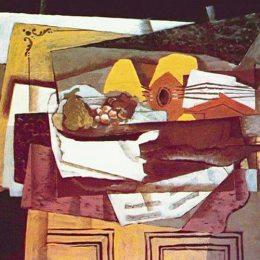 《餐具柜》喬治·布拉克(Georges Braque)高清作品欣賞
