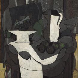 《一碗葡萄》喬治·布拉克(Georges Braque)高清作品欣賞