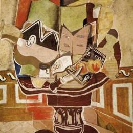《圓桌會議》喬治·布拉克(Georges Braque)高清作品欣賞
