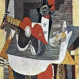 《賈景暉之瓶》喬治·布拉克(Georges Braque)高清作品欣賞