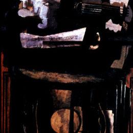 《臺座》喬治·布拉克(Georges Braque)高清作品欣賞