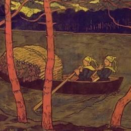 《布列塔尼地區的女船夫》喬治·拉孔布(Georges Lacombe)高清作品欣賞