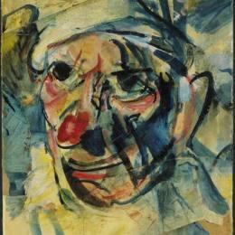 《小丑》喬治·魯奧(Georges Rouault)高清作品欣賞