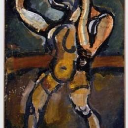 《雜技七》喬治·魯奧(Georges Rouault)高清作品欣賞