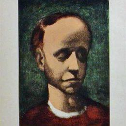 《自畫像》喬治·魯奧(Georges Rouault)高清作品欣賞