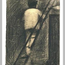 《畫家》喬治·修拉(Georges Seurat)高清作品欣賞