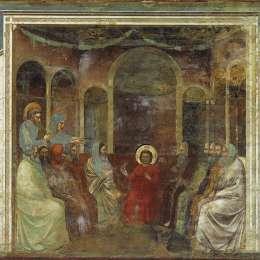 《醫生中的基督》喬托·迪·邦多內(Giotto)高清作品欣賞