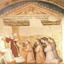 《規則的確認》喬托·迪·邦多內(Giotto)高清作品欣賞