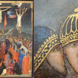 《被釘十字架》喬托·迪·邦多內(Giotto)高清作品欣賞