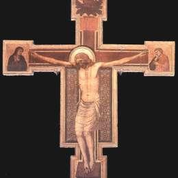《十字架受難》喬托·迪·邦多內(Giotto)高清作品欣賞