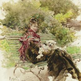 《未驗明的》喬瓦尼·波爾蒂尼(Giovanni Boldini)高清作品欣賞