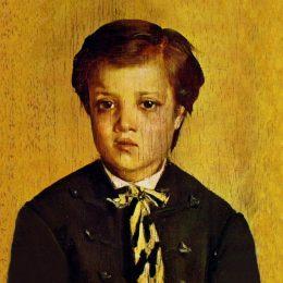 《弗朗切斯科博爾迪尼的肖像》喬瓦尼·波爾蒂尼(Giovanni Boldini)高清作品欣賞
