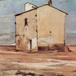 喬瓦尼·法托里(Giovanni Fattori)高清作品:Der Schindanger in Livorno