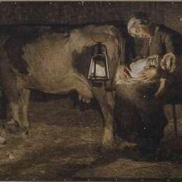 《馬德里》喬凡尼·塞岡提尼(Giovanni Segantini)高清作品欣賞
