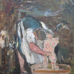 《德斯-德斯》喬凡尼·塞岡提尼(Giovanni Segantini)高清作品欣賞