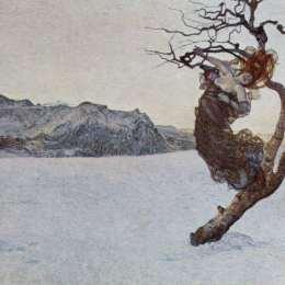 《邪惡的母親們》喬凡尼·塞岡提尼(Giovanni Segantini)高清作品欣賞