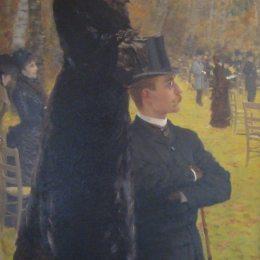 《巴黎奧特伊的比賽》朱塞佩·德·尼蒂斯(Giuseppe de Nittis)高清作品欣賞
