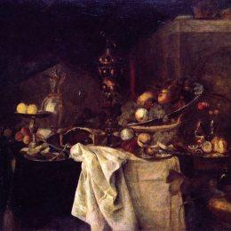 亨利·馬蒂斯(Henri Matisse)高清作品:La Deserte (after Jan Davidsz, De Heem)