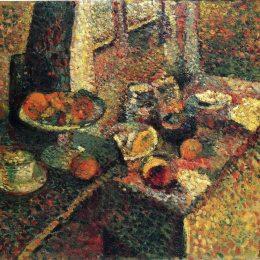 《靜物》亨利·馬蒂斯(Henri Matisse)高清作品欣賞