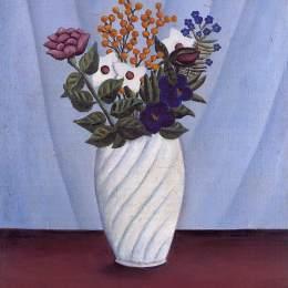《花束》亨利·盧梭(Henri Rousseau)高清作品欣賞