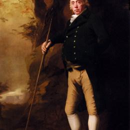 亨利·雷本(Henry Raeburn)高清作品:Portrait of Alexander Keith of Ravelston, Midlothian