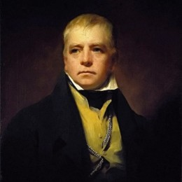 《沃爾特斯科特爵士的肖像》亨利·雷本(Henry Raeburn)高清作品欣賞