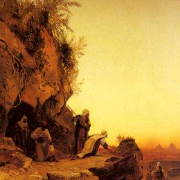 《伏擊》赫爾曼·大衛·所羅門(Hermann David Salomon Corrodi)高清作品欣賞