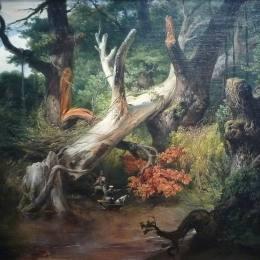賀拉斯·貝內特(Horace Vernet)高清作品:Hunting in the Pontine Marshes