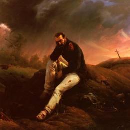 《滑鐵盧的最后擲彈兵》賀拉斯·貝內特(Horace Vernet)高清作品欣賞