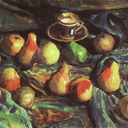《一塊綠色的梨》伊戈爾·格拉巴爾(Igor Grabar)高清作品欣賞