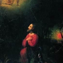 《在花園里苦惱》伊利亞·葉菲莫維奇·列賓(Ilya Repin)高清作品欣賞