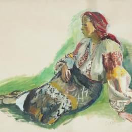 伊西夫伊塞(Iosif Iser)高清作品:Woman from Muscel