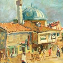 伊西夫伊塞(Iosif Iser)高清作品:The Mosque from Turtucaia