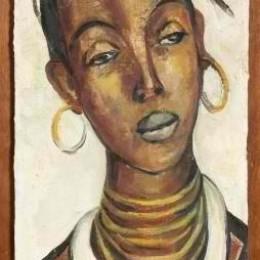 《非洲女人》伊爾瑪·斯特恩(Irma Stern)高清作品欣賞