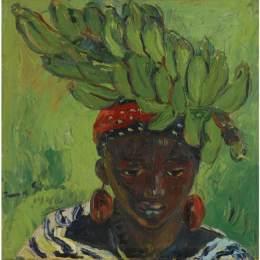 《香蕉載體》伊爾瑪·斯特恩(Irma Stern)高清作品欣賞