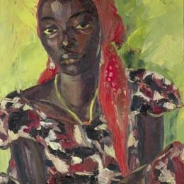 《剛果美女》伊爾瑪·斯特恩(Irma Stern)高清作品欣賞