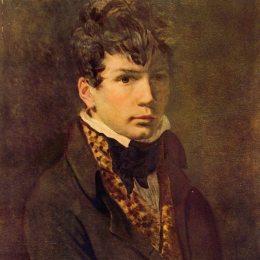 《年輕人的肖像》雅克-路易·大衛(Jacques-Louis David)高清作品欣賞
