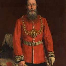 查爾斯·詹姆斯(James Charles)高清作品:Joshua Walmsley Radcliffe, Mayor of Oldham