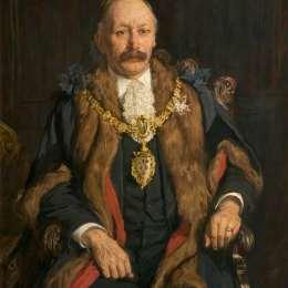 查爾斯·詹姆斯(James Charles)高清作品:William Bolton, JP, Mayor of Warrington