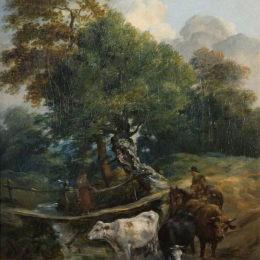 《澆水處》詹姆斯·沃德(James Ward)高清作品欣賞