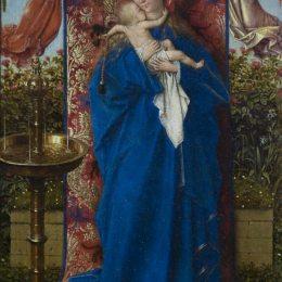 《麥當娜在噴泉》揚·凡·艾克(Jan van Eyck)高清作品欣賞