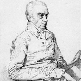 《Thomas Church博士》讓·奧古斯特·多米尼克·安格爾(Jean Auguste Dominique Ingres)高清作品欣賞