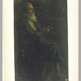 《門徒的身影,向右轉》讓·奧古斯特·多米尼克·安格爾(Jean Auguste Dominique Ingres)高清作品欣賞